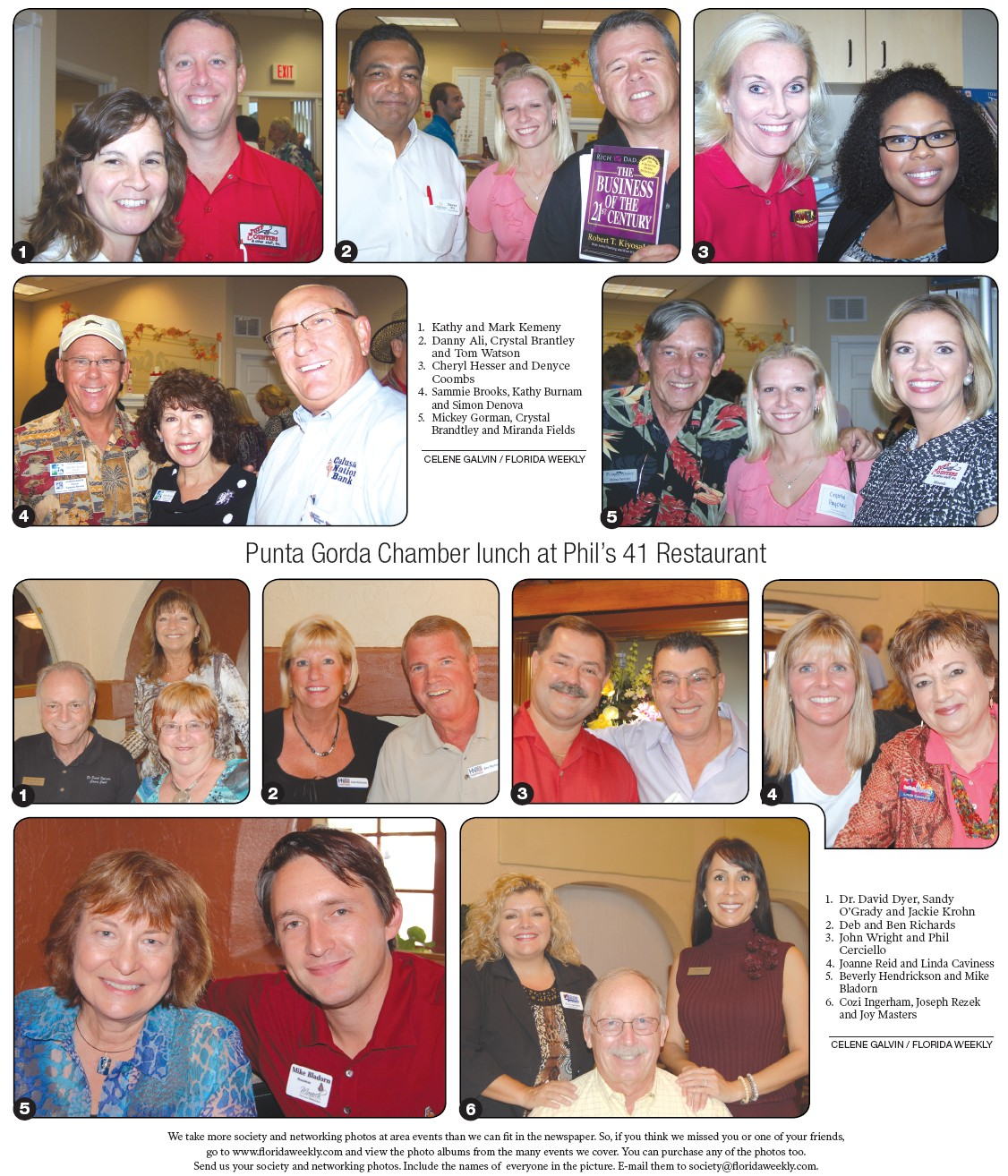 Charlotte County Chamber After Hours At Brian Chapman State Farm Insurance Charlotte County Florida Weekly