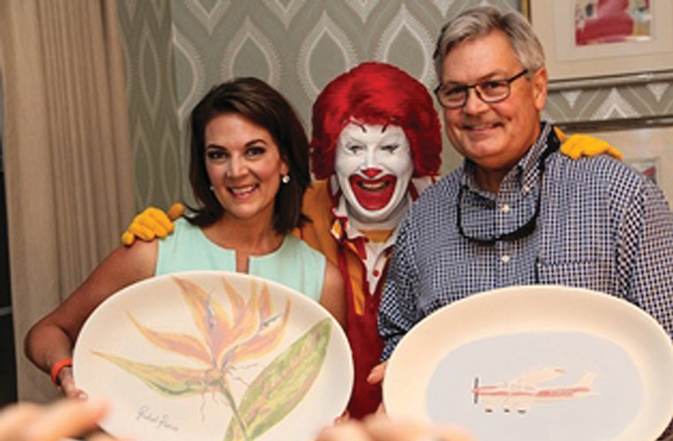 NBC2 news anchor Rachel Pierce Ronald McDonald and Randy Henderson Fort Myers mayor  sc 1 st  Florida Weekly Charlotte County : myer dinner plates - pezcame.com