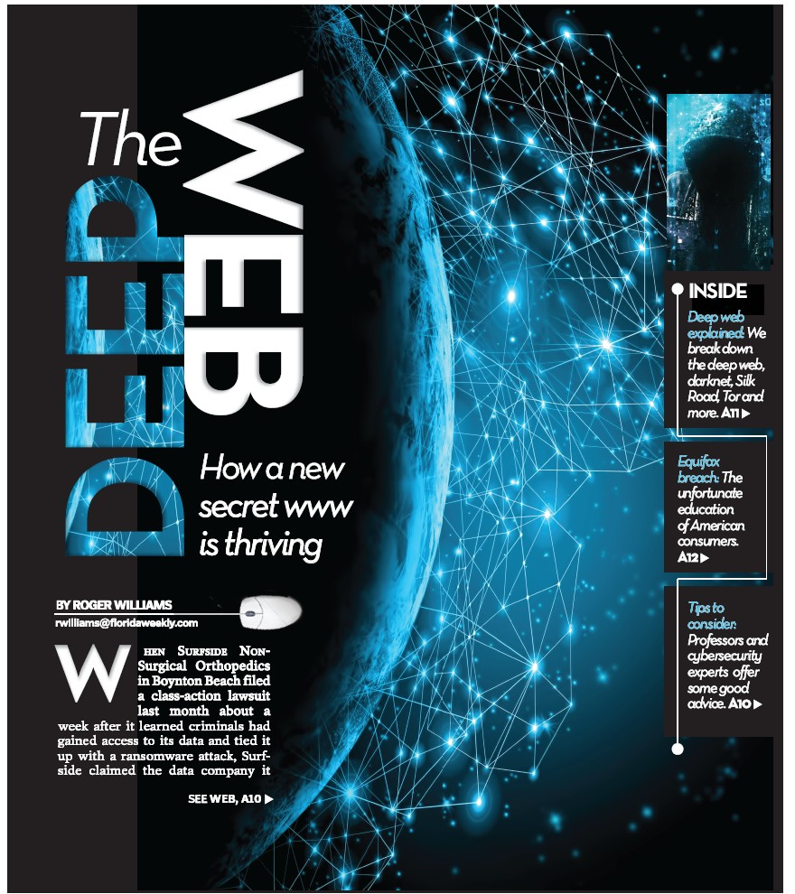 The deep web charlotte county florida weekly when surfside non surgical orthopedics in boynton beach filed a class action lawsuit last month about a week after it learned criminals had gained access to ccuart Images