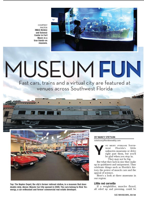 Museum Fun Charlotte County Florida Weekly