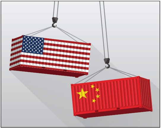 Growing trade deficit could hurt corporate profits, in turn the U S