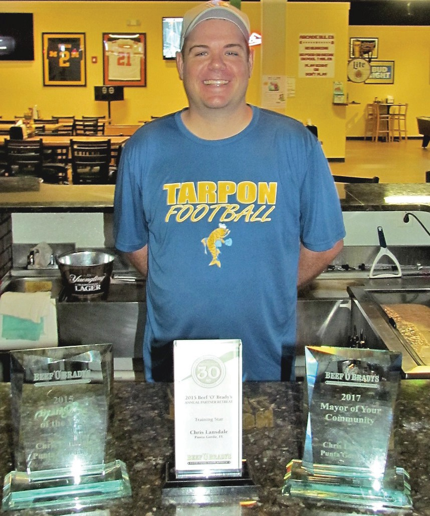 Local Beef O\'Brady\'s owner honored for community involvement ...