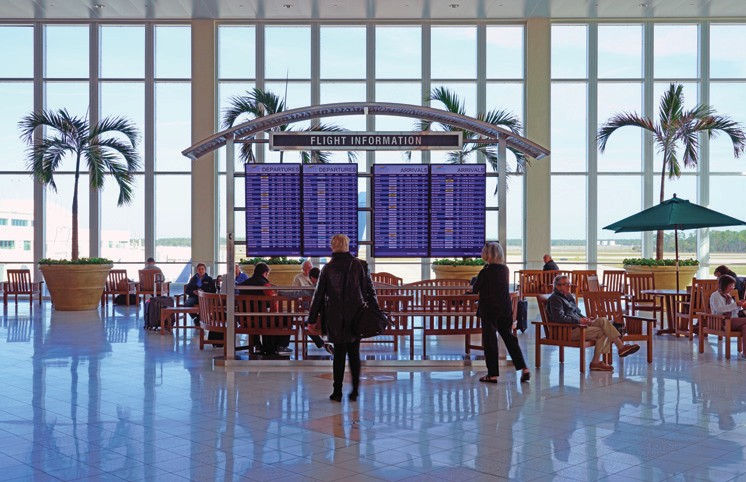 J.D. Power survey: RSW third best in mid-sized airports