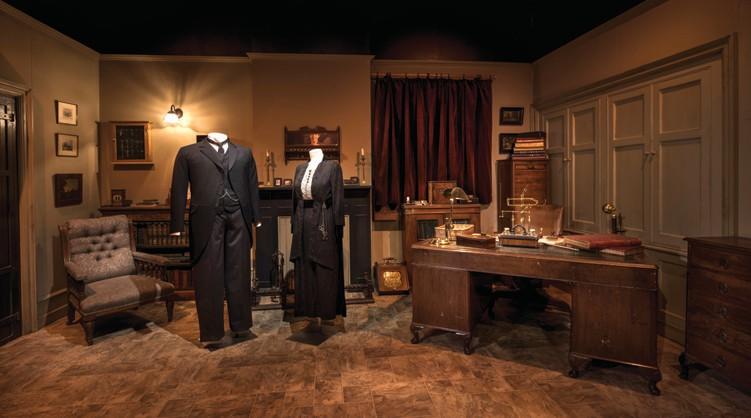 Downton Abbey Exhibition Showcases Costumes Sets Charlotte
