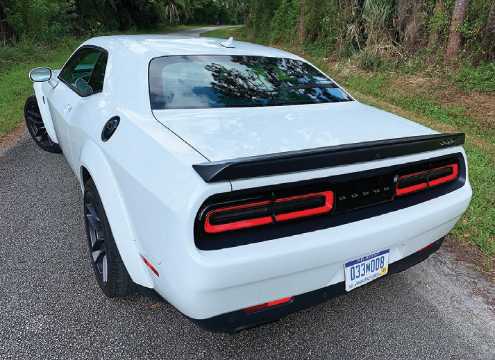 Dodge Challenger Redeye feels like a factory-direct racecar