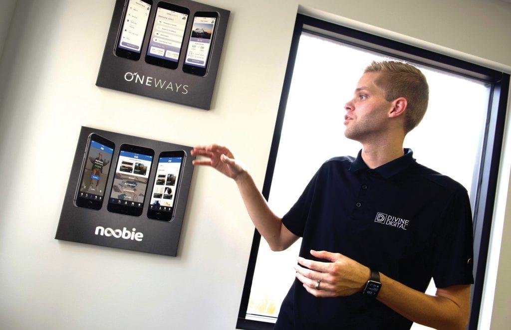Jared Stresen-Reuter works as an app entrepreneur. COURTESY PHOTO