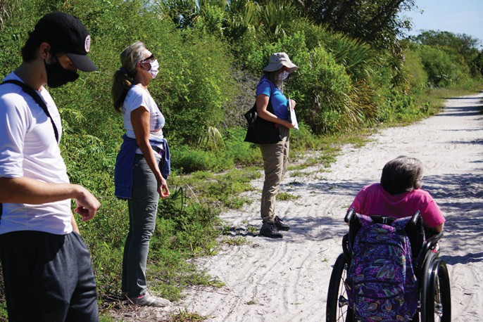 The Mindfulness Walk takes a Zen approach to hiking Bailey Tract trails at the refuge. COURTESY PHOTO