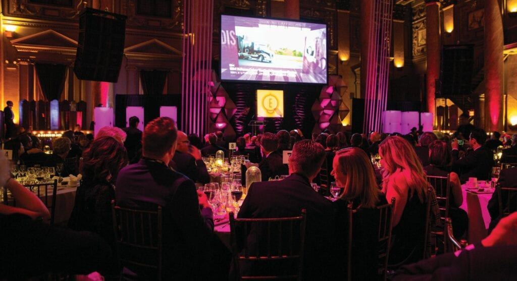 Attendees at the 2019 Edison Awards Gala. The awards recognizing innovation success are named after Thomas Alva Edison. COURTESY PHOTO