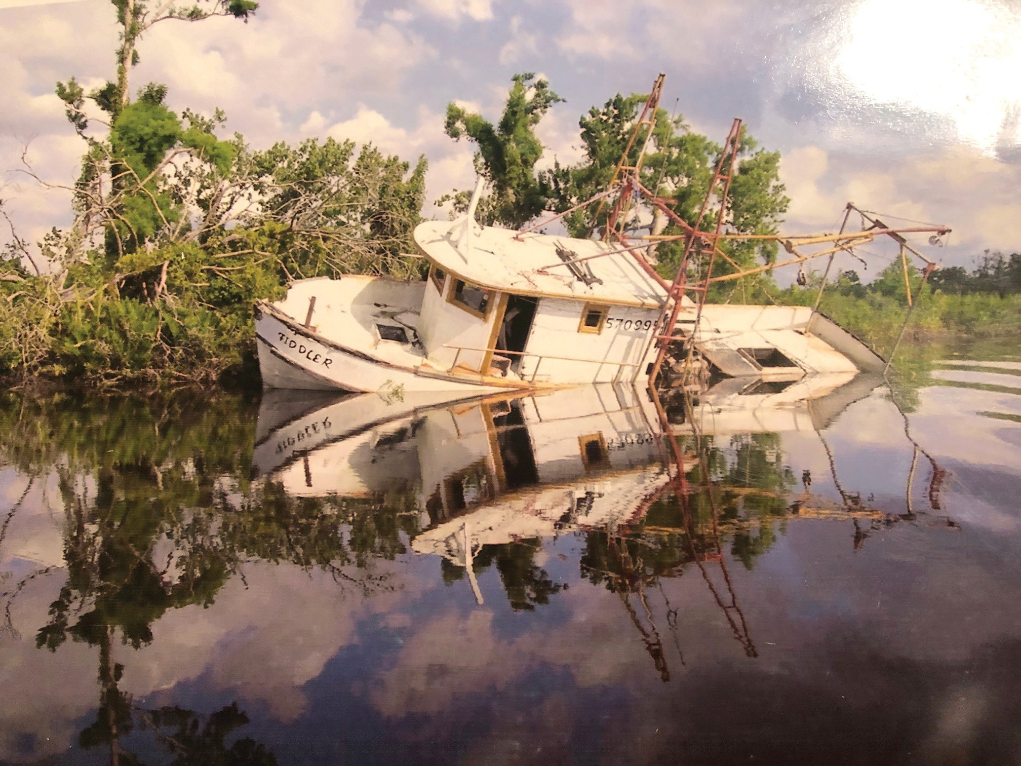 Abandoned ship! A requiem for stranded vessels